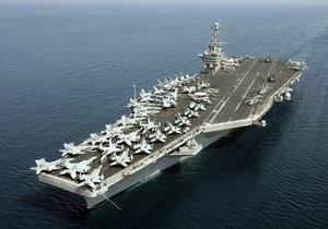 Американский авианосец Джон Стеннис вошел в Персидский залив