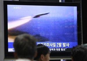 КНДР впервые с 2009 года провела ракетные испытания