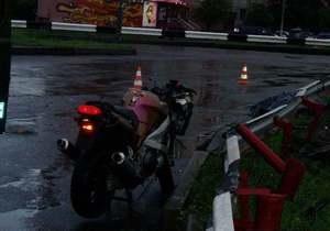 Сегодня в Киеве разбились два мотоциклиста