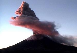 В Мексике вновь активизировался вулкан Попокатепетль