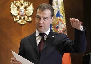 Медведев запретил поставку Ливии всех видов вооружений