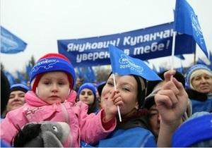 Социополис: 21% городских жителей поддержат Януковича