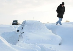 На Европу вновь обрушились сильные снегопады