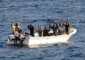 Кения отказалась судить сомалийских пиратов