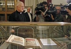 В Испании нашли редчайшую книгу XII века, похищенную год назад