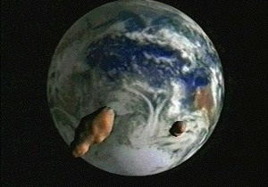 Над Тихим океаном взорвался метеорит
