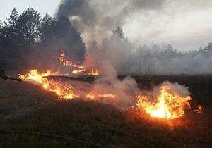 За выходные в Запорожской области выгорело более 60 га территорий