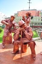 Живые скульптуры от пива Львовское отправляются в тур по городам Западной Украины