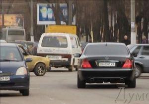 Мэр Одессы не заметил, что его водитель ездит по встречной полосе