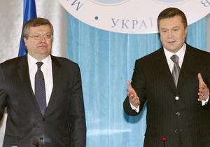 Янукович уволил послов Украины в ключевых странах