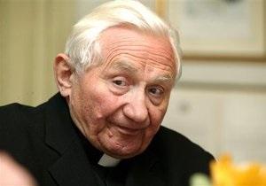 Брат Папы Римского признался, что избивал своих учеников