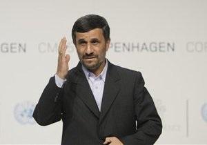 Ахмадинеджад заявил, что Иран не намерен разрабатывать ядерное оружие