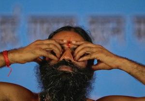 Известный индийский йог начал кампанию по борьбе с коррупцией