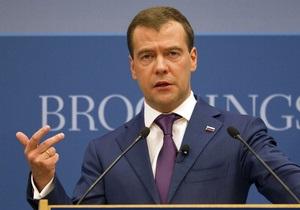 Медведев назвал политическую ситуацию в России стабильной