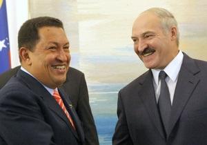 Волнуясь за Чавеса, Лукашенко не спал всю ночь