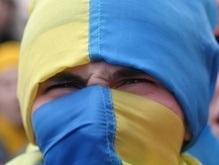 Над  Черным морем подняли гигантский флаг Украины