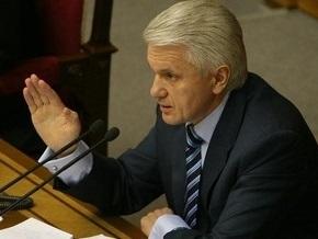 Литвин заявил, что ПР добивается роспуска Рады