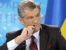 Ющенко подписал  закон о Кабинете министров