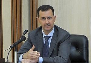 Асад назвал условие, при котором Сирия будет обсуждать урегулирование кризиса