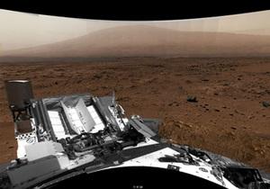 Новости науки - КЬюриосити - Марс - NASA: NASA создало из снимков Кьюриосити панораму Марса