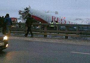 Число жертв крушения Ту-204 возросло до трех