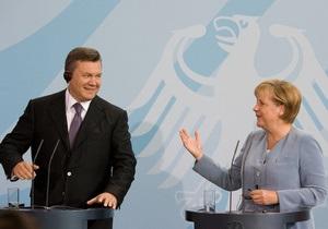 Фотогалерея: Drang nach Westen. Янукович посетил Берлин