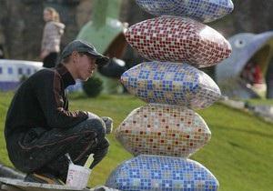 В Киеве установили скульптуру Маленького Принца