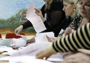 В Киевский облизбирком поступили первые протоколы