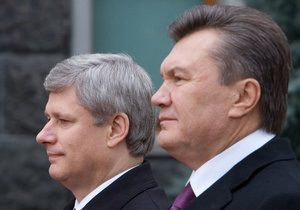 Украина намерена добиться безвизового режима с Канадой