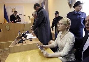 Украинские оппозиционные политики осудили приговор Тимошенко