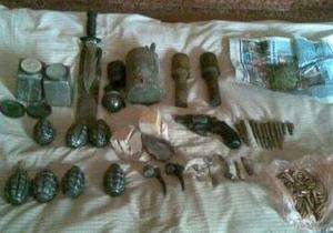 У 51-летнего жителя Крыма изъяли коноплю и арсенал оружия