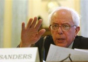 Берни Сандерс стал первым законодателем, избранным в сенат Конгресса США