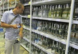 Кабмин повысил минимальные цены на водку