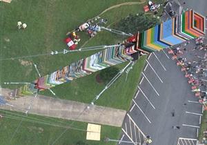 Новости США: В США школьники построили 11-этажную башню из Lego