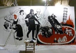 Скандал в Мистецьком Арсенале: Автор закрашенной картины требует ее восстановить