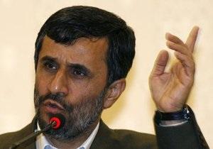 Ахмадинежад назвал Медведева  рупором врагов Ирана
