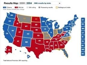 Итоги выборов в США: Как голосовала Америка