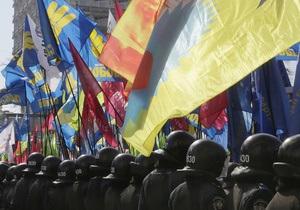 Доний: Милиция получила от мобильных операторов номера участников акции протеста