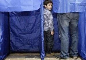На выборы в Грузии пришли около половины избирателей