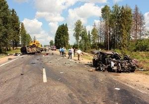Крупное ДТП в Беларуси: восемь украинцев находятся в тяжелом состоянии