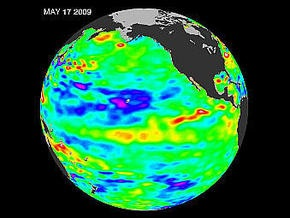 NASA показало глобальное потепление в режиме онлайн