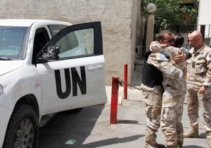 Сирийская оппозиция расстроена решением ООН приостановить работу наблюдателей