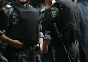 МВД: Сотни милиционеров задействованы в проверке информации о готовящемся в Полтаве теракте