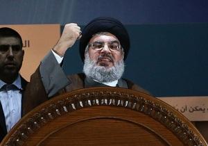 Лидер Хезболлы Насралла спустя год появился на публике