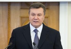 Янукович не верит, что в ближайшее время у границ Украины может вспыхнуть война