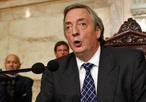 Муж президента Аргентины экстренно госпитализирован