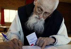 Во Франции стартовали президентские выборы