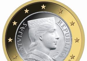 В Латвии на монетах евро изобразят девушку