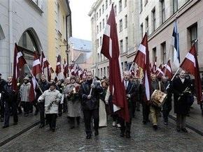 В Риге состоялся марш памяти бывших легионеров СС