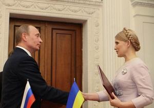 Путин с теплотой вспоминает встречу с Тимошенко в Ялте